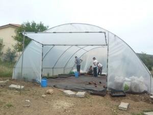 Construcción del PCPI-Aula profesional de jardinería. 2014